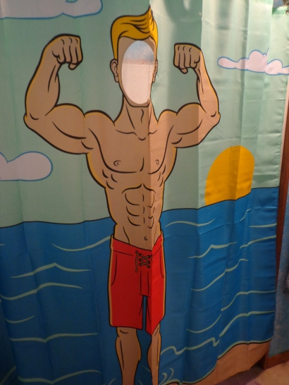 Jay's Shower Curtain