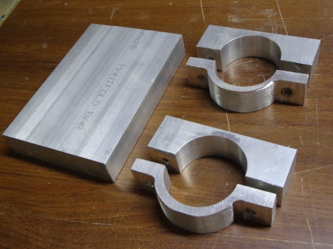 Machined CNC Router Holder