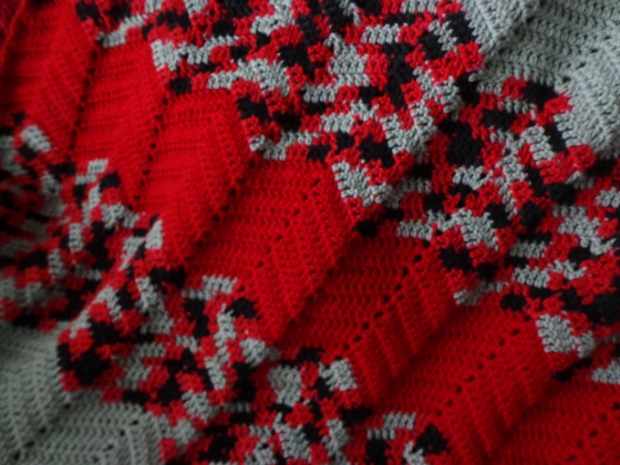 Project Linus Blanket #28 Detail