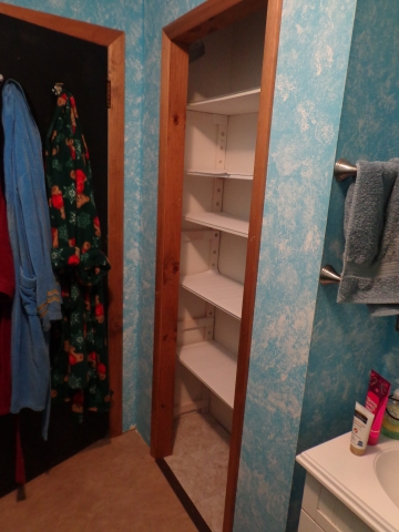 Bathroom Closet Finished 2-18-20
