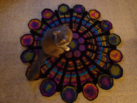 Cathedral Rose Window Afghan 2-18-20