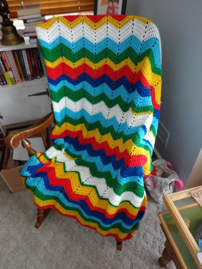 Project Linus Blanket #29 1-28-20 Rainbow Bright