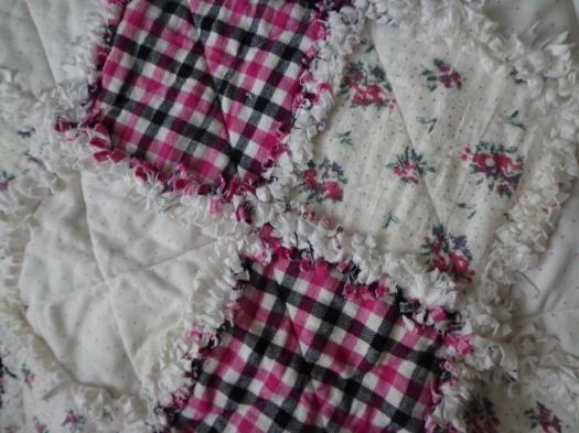 Babe Flannel Quilt Detail