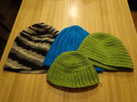 Crocheted Hats 3-12-20