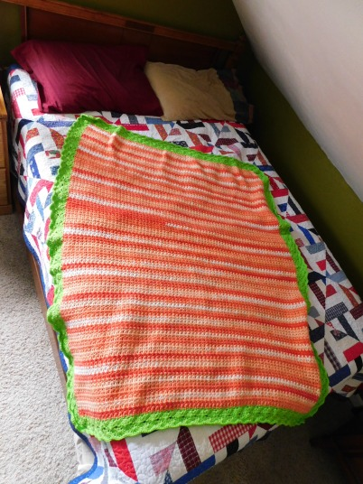 Project Linus Blanket #30 3-25-20 - Carrot