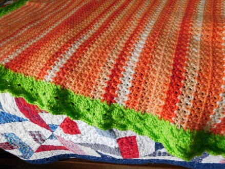 Project Linus Blanket #30 Detail