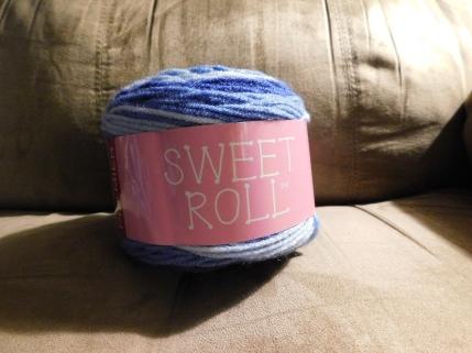 Blueberry Swirl Sweet Roll