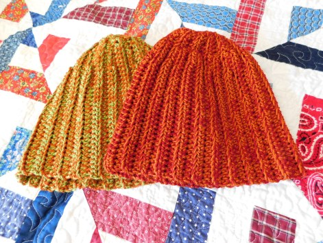Crocheted Hat #5 & #9