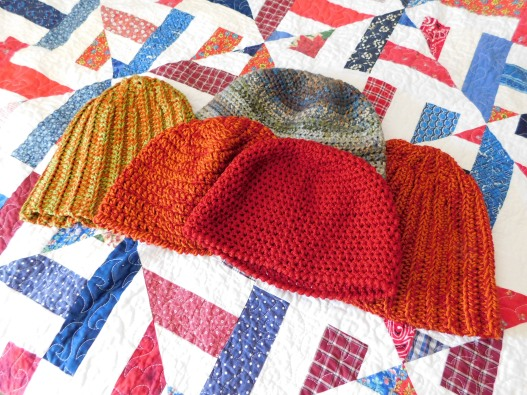 Crocheted Hats 5-9