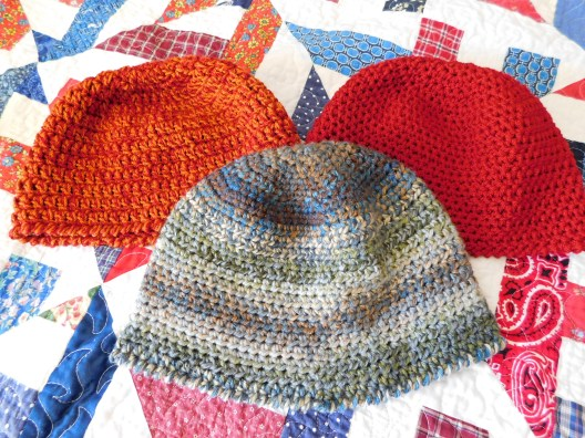 Crocheted Hats #6-8