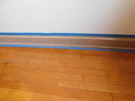 Sewing Room Painted Trim 3 4-5-20