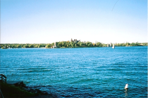 Boldt Castle (from my balcony)