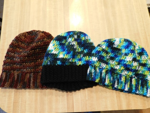 Crocheted Hats 13-15