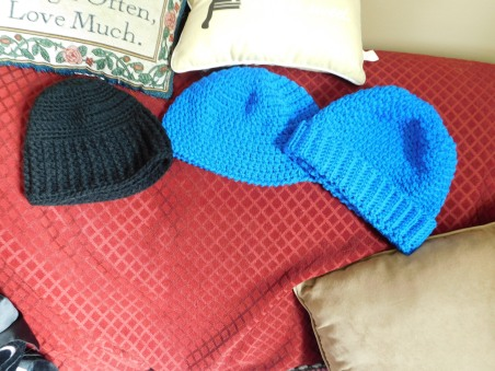 Crocheted Hats Detail 10-12