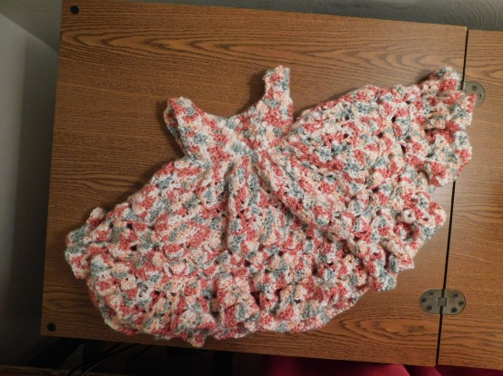 Frilly Baby Dress 5-1-20