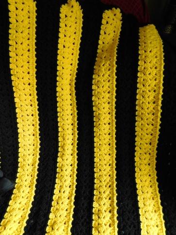 Light's Baby Blanket Detail