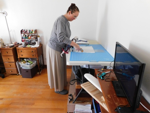 Penny Cutting Fabric