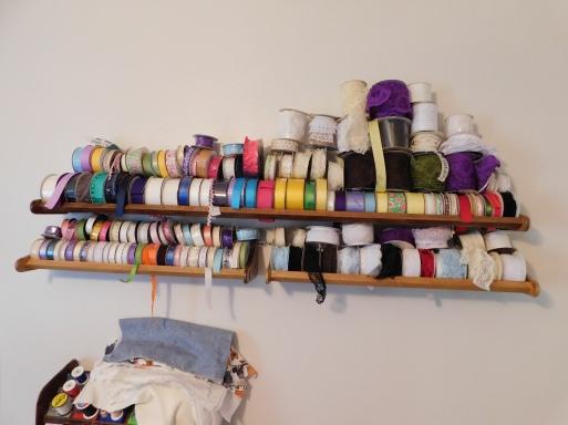 Spooled Ribbon Shelves