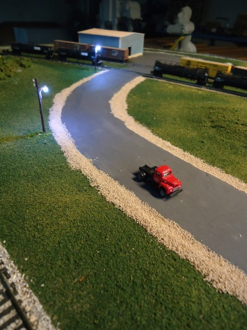 North Bend at Night