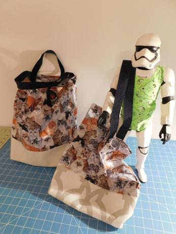 Sarah's Bag Modeled