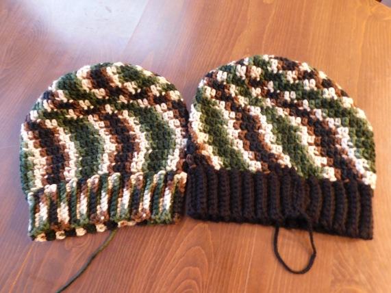 Crocheted Hats #21 & 22