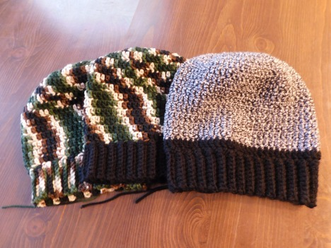 Crocheted Hats #21-23
