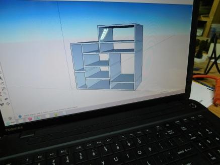 Workshop TV Center Drawing
