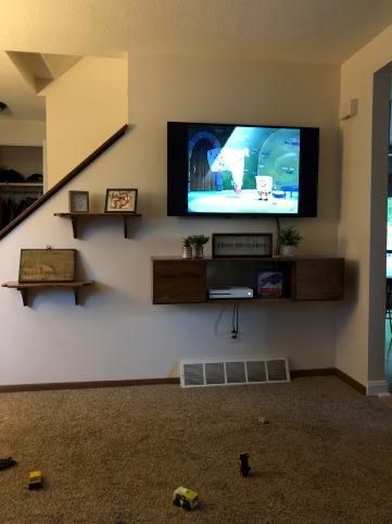 Brad's TV Center Installed