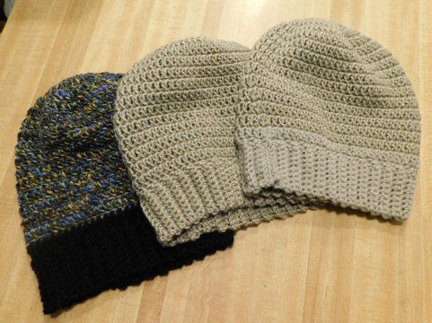 Crocheted Hats #27-29