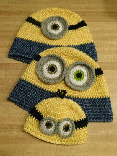 Family Minion Hats