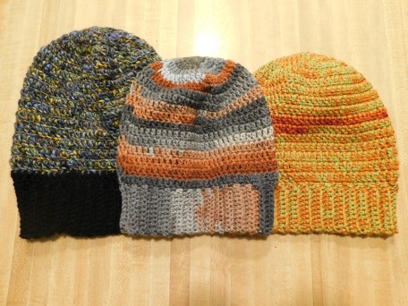 Crocheted Hats #30-32