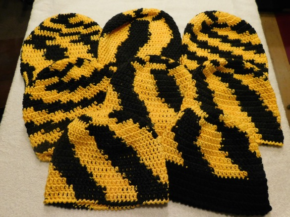 Crocheted Hats #35-42