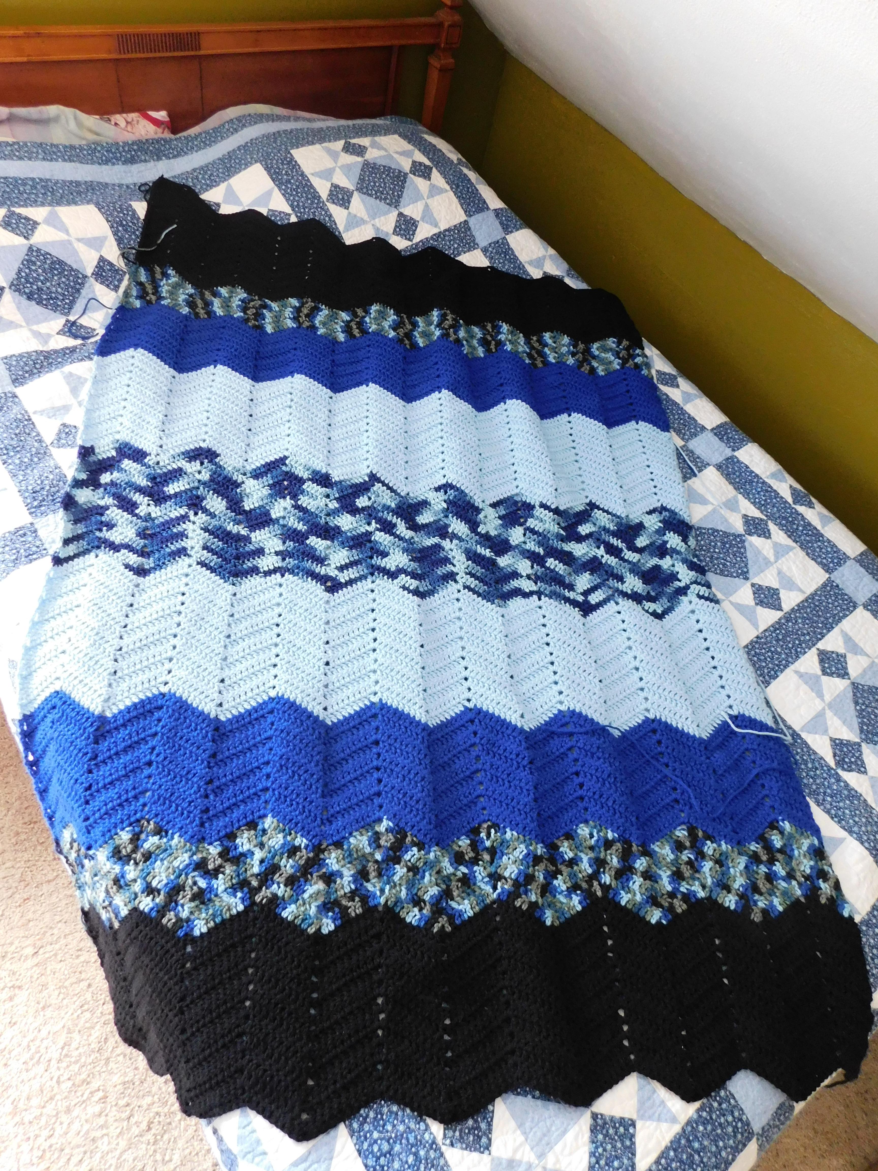 Project Linus Blanket #33 1-1-21 - Easy Peasy