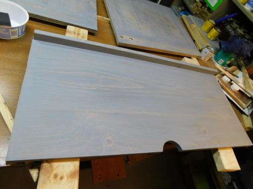 T-E TV Center Shelf Gray Coat 1 1-26-21