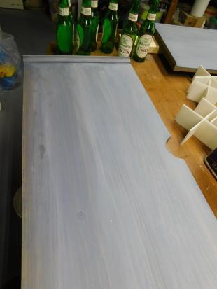 T-E TV Center Shelf Repair 1-24-21