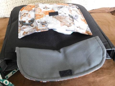 On A Break Bag Front Pocket