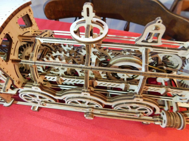 Wooden Train Gears