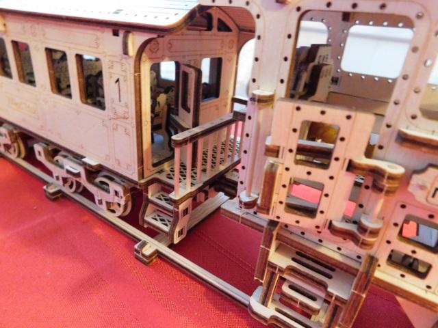 Wooden Train Steps