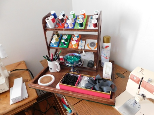 Mobile Sewing Tray