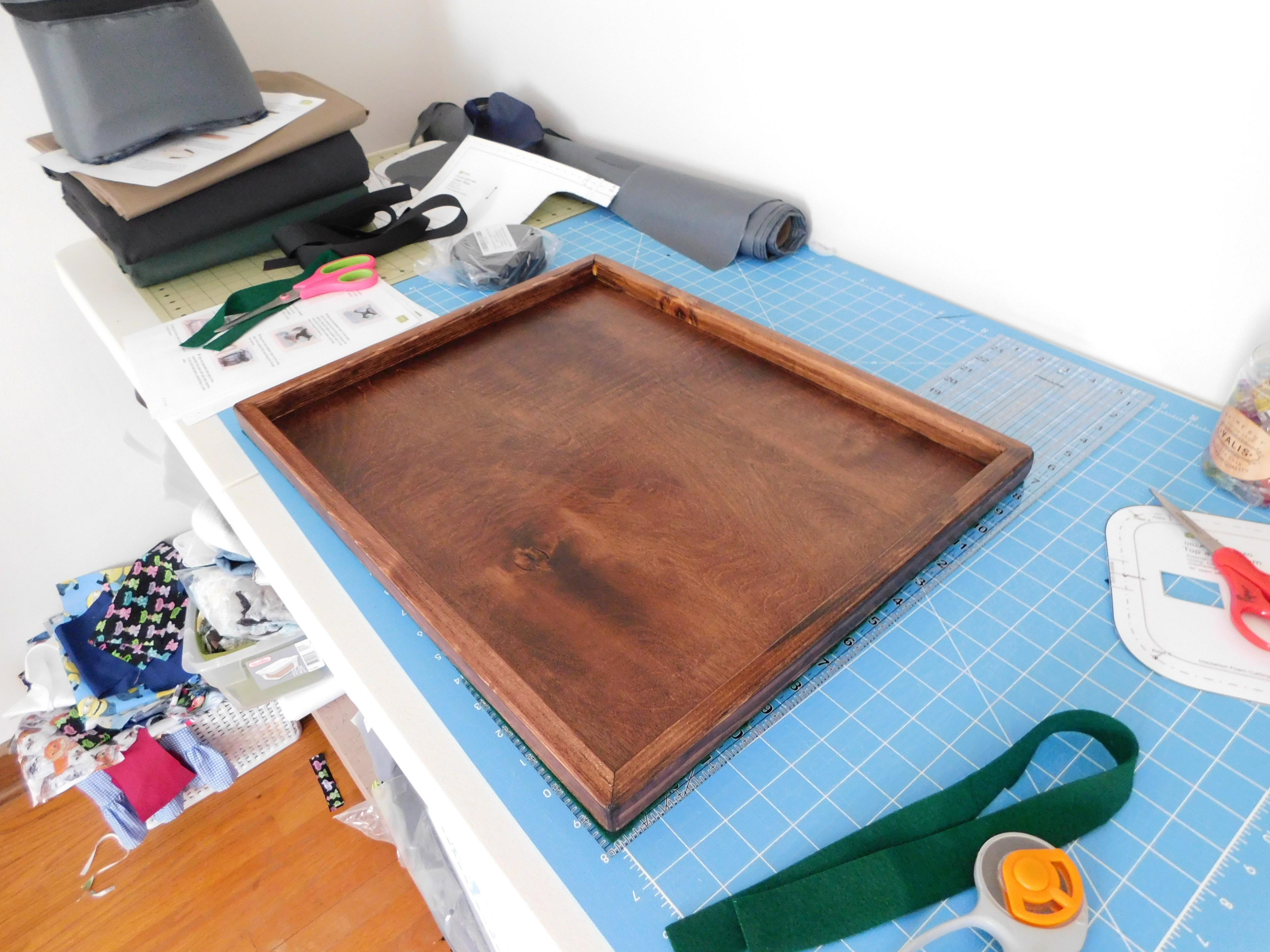 Sewing Tray Finished 5-1-21