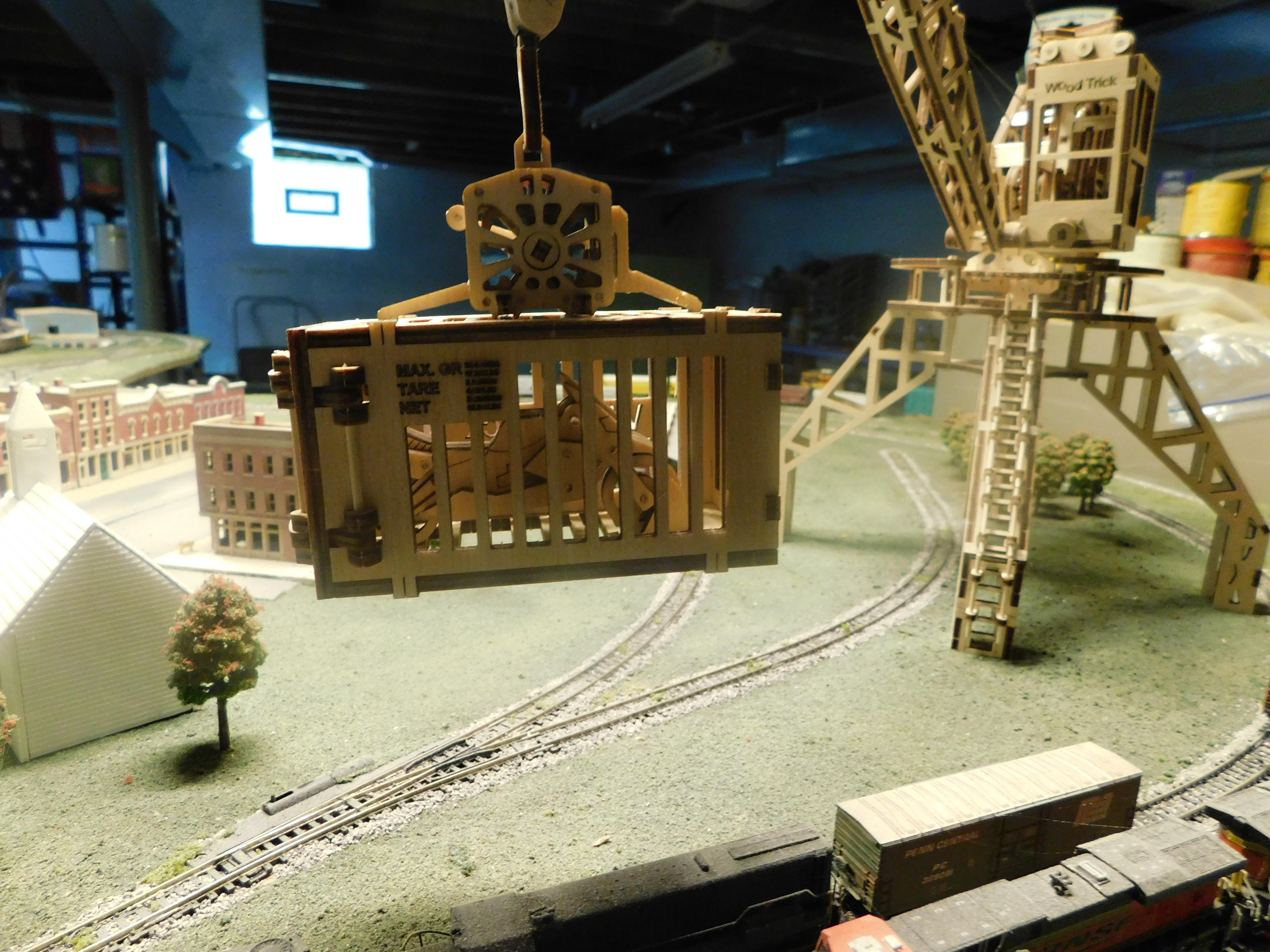 Crane Cargo Box