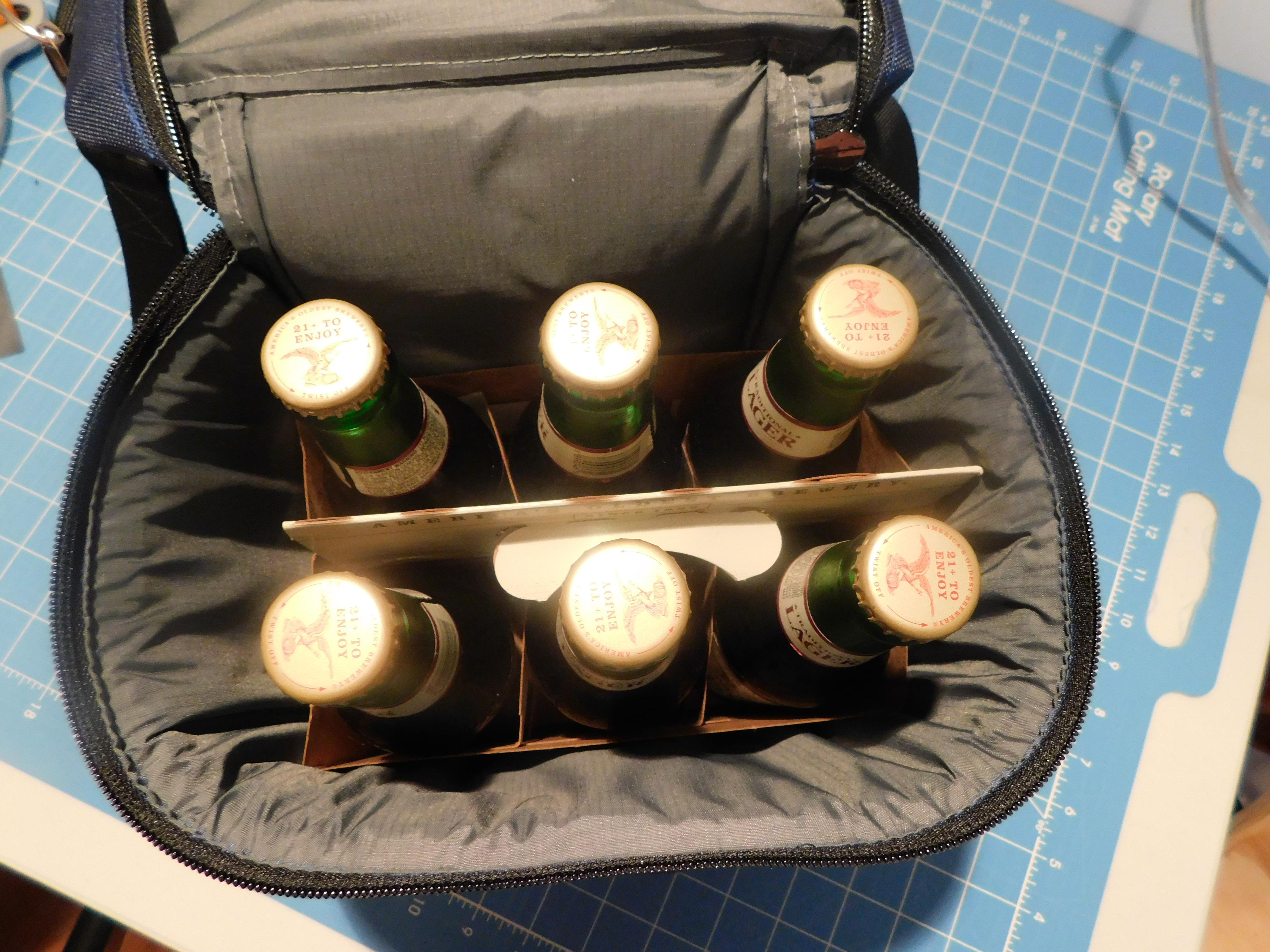 Patriots Beer Cooler Fit