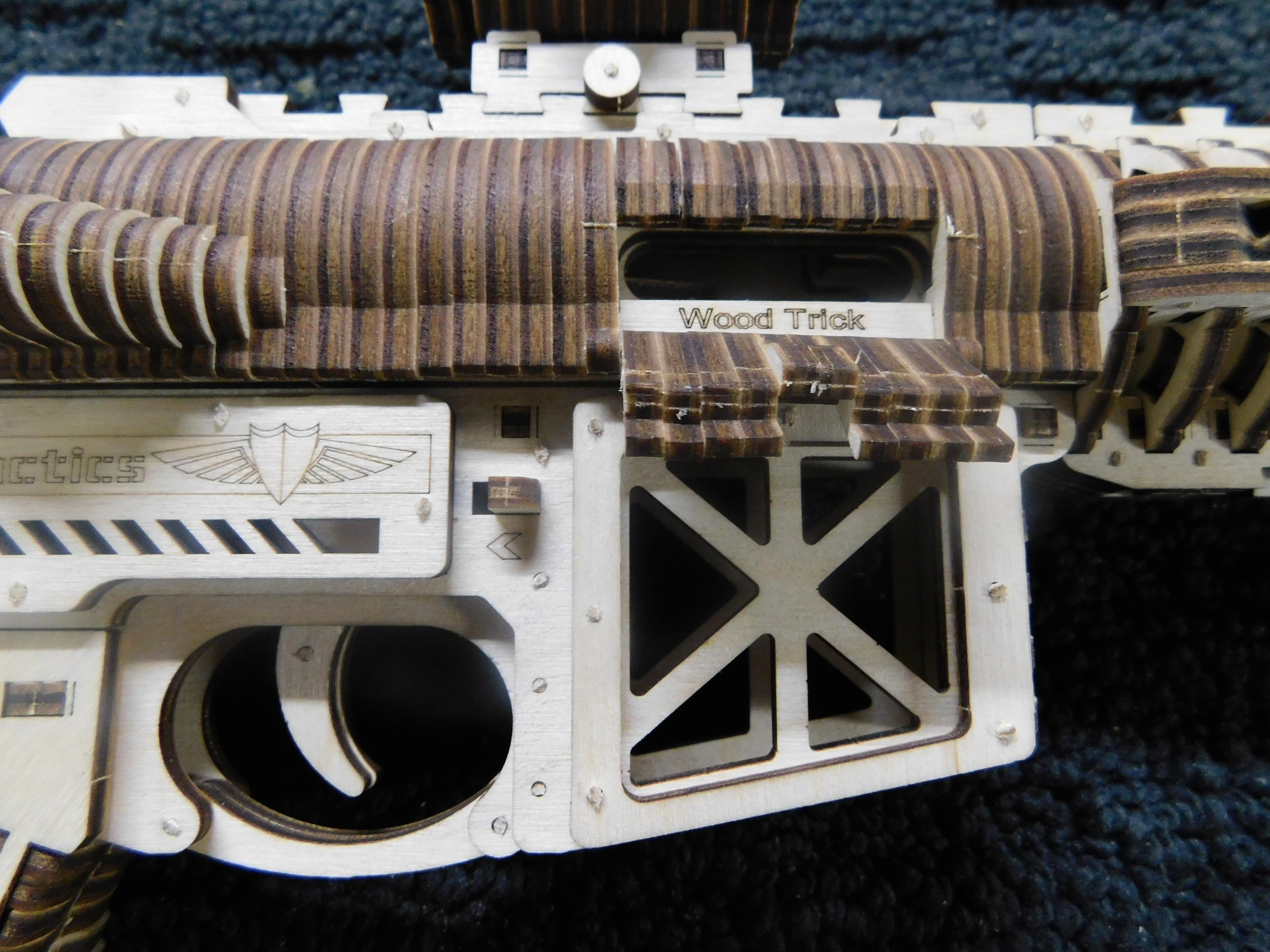 AR15 Puzzle Cartridge Ejection