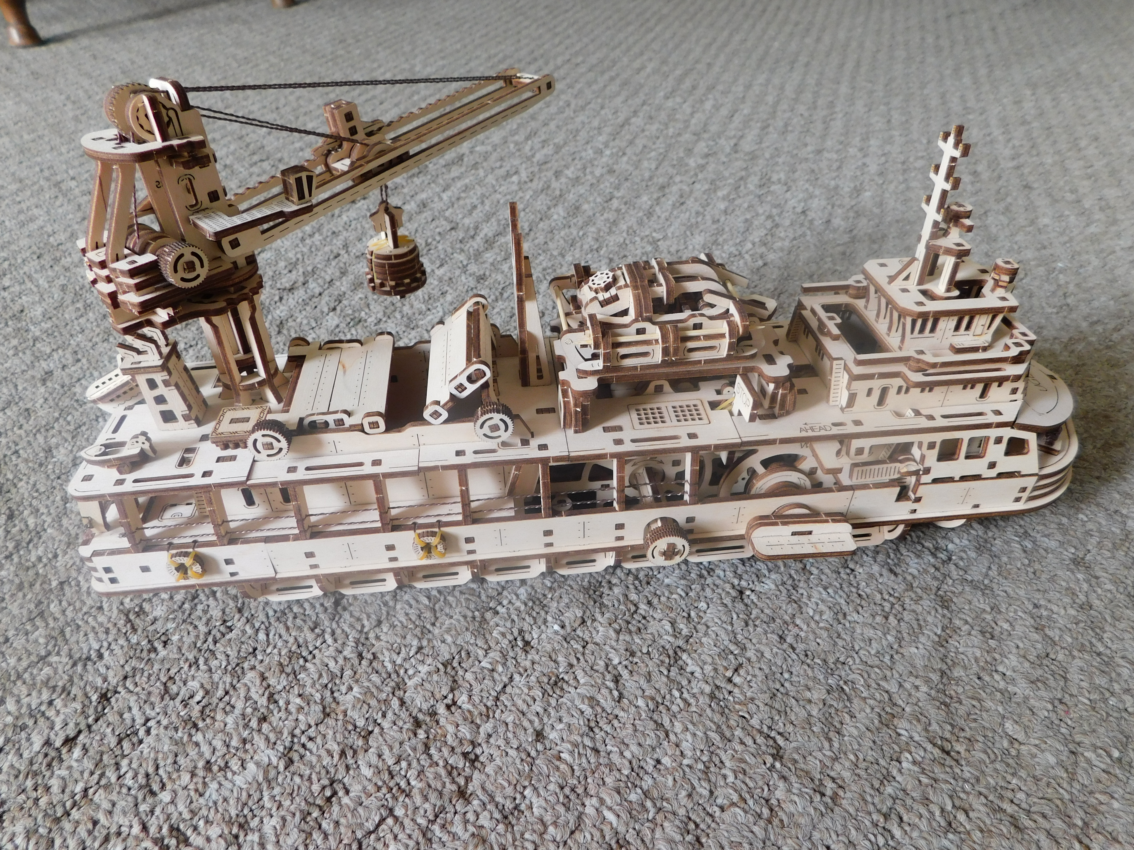 Scientific Research Ship Other Side