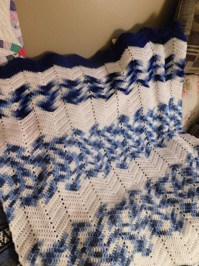Project Linus Blanket #38 Detail