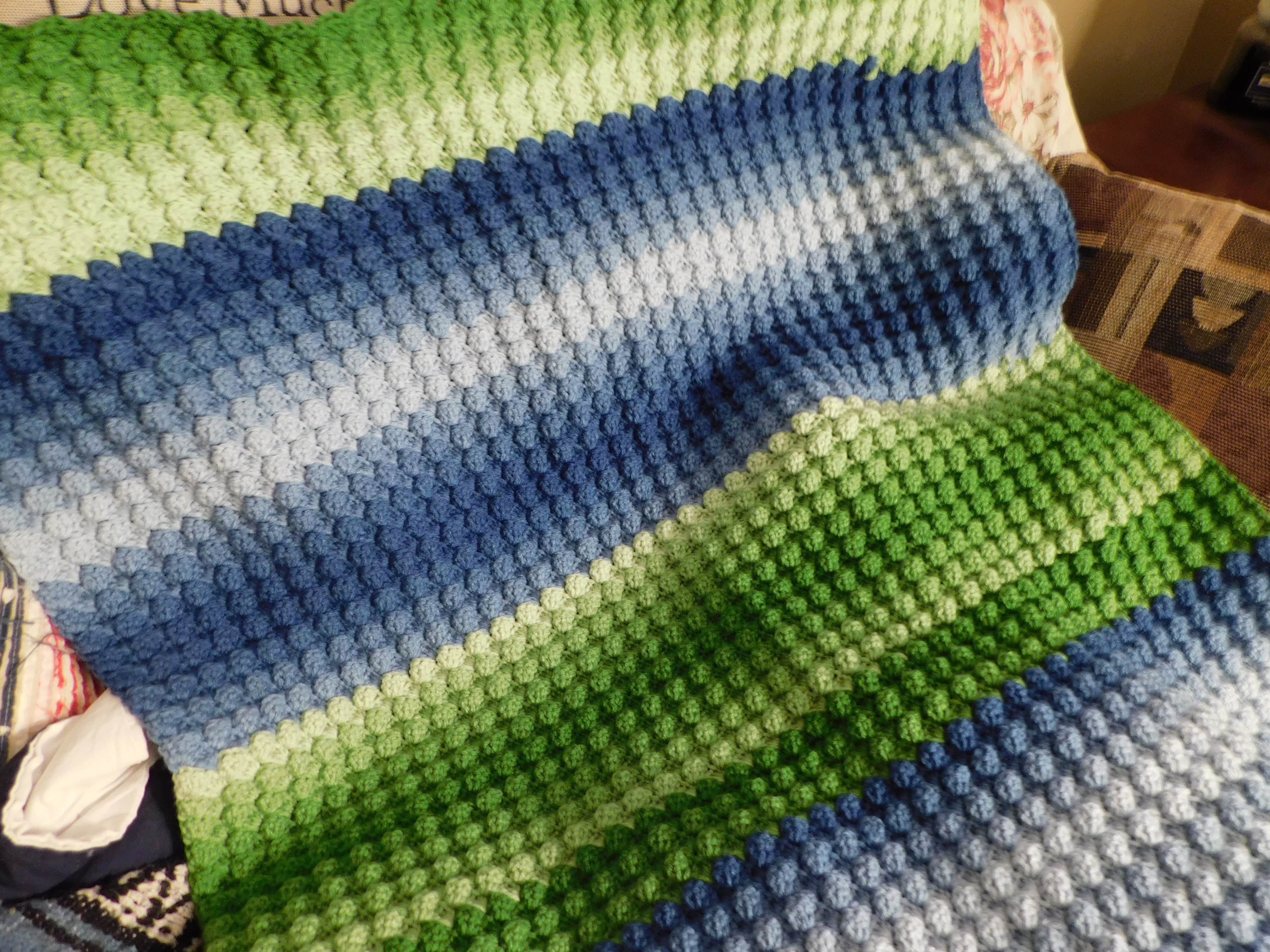 Project Linus Blanket #39 Lake Views