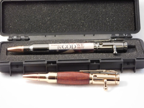 Turned Bolt Action Pens