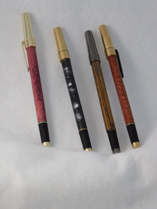 Turned Icon Pens